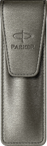 Etui Leather Pearl Silver-Grey